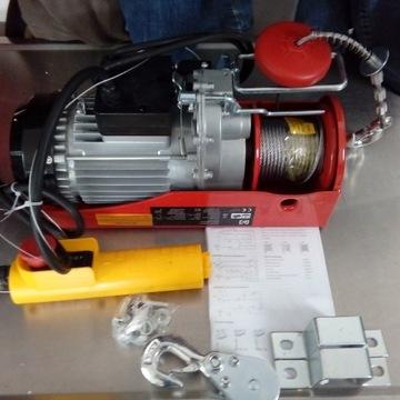 WYCIĄGARKA WCIĄGARKA LINOWA 200/400kg 230V outlet