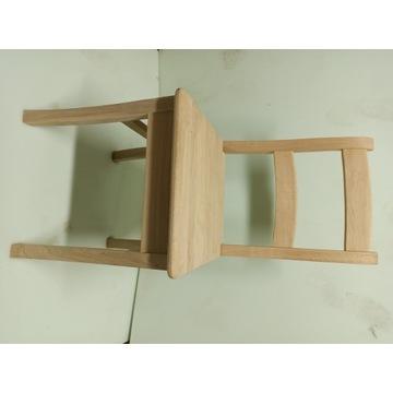 Krzesła dębowe drewniane, pomaluj je z rodziną