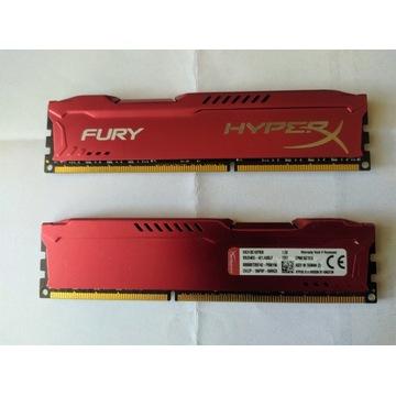 RAM DDR3 HyperX Fury 1866Mhz CL10 2x8GB (16GB)