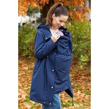 Płaszcz ciążowy i do noszenia dziecka