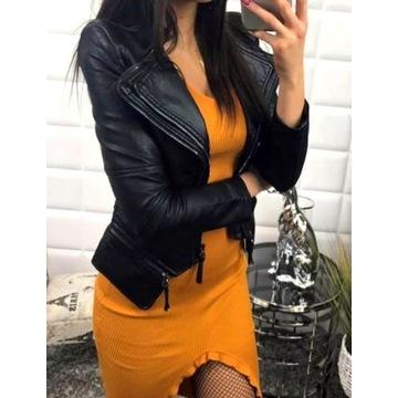Elegancka kurtka Ramoneska, model VALENTINO