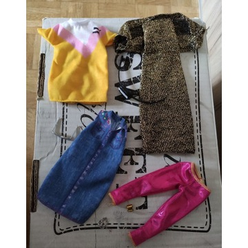 Zestaw ubrań dla Barbie