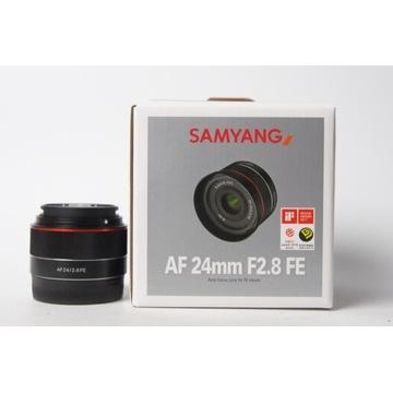 Obiektyw Samyang 24 mm f/2.8 ED Sony FE