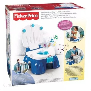 Nocnik podest Fisher Price Royal Potty fanfary