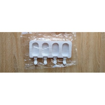 Forma foremka silikonowa do małych lodów na patyku