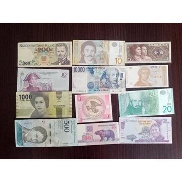 zestaw 2 banknotów