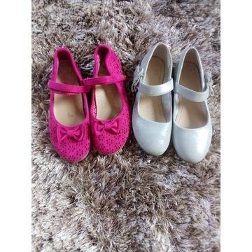 Pantofelki roz 36