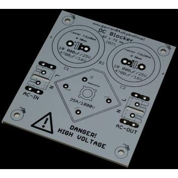 """PCB DC Blocker - ograniczenie """"buczenia"""" transform"""
