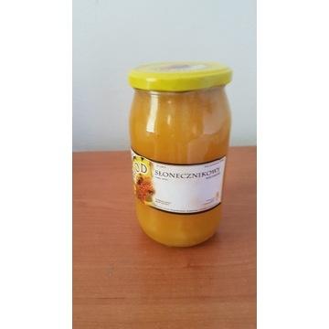 Miód Pszczeli  Słonecznikowy  1.3 kg