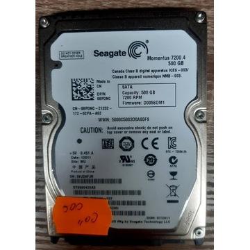Dysk twardy Seagate ST9500420AS 500GB Sprawny