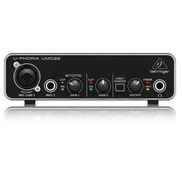 Behringer U-PHORIA UMC22 USB Audio Interfejs