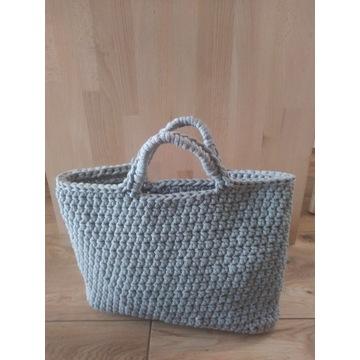 Torebka shopping bag -rękodzieło