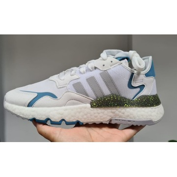 Nowe Adidas Nite Jogger 39 1/3 białe boost białe