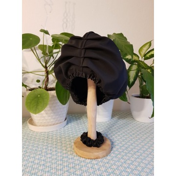 Jedwabny turban ochronny + gumka do loków jakość!