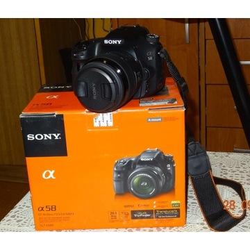 Sony A 58 + obiektyw Tamron 18-270