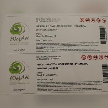 Hrabi Poznań 6.12 bilety
