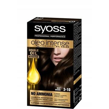 Syoss Oleo intense farba głęboki brąz 3-10 nowa
