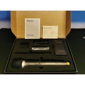 Mikrofo bezprzewodowy Saramonic SR-WM4CA + SR-HM4C