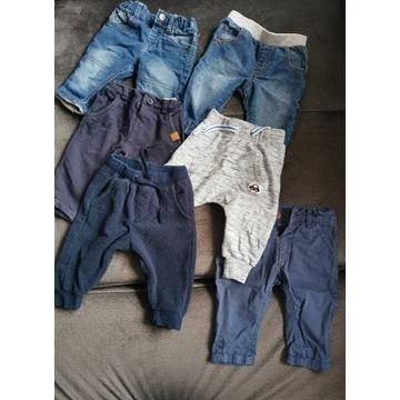 Spodnie chłopięce r. 62