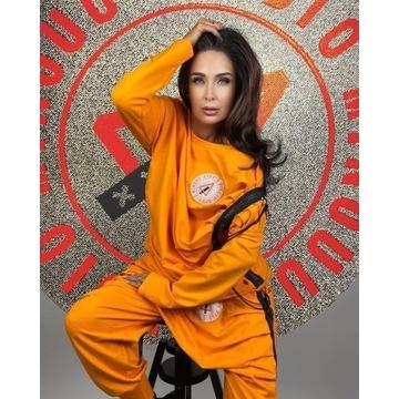 Minouu bluza pomarańczowa Lynda