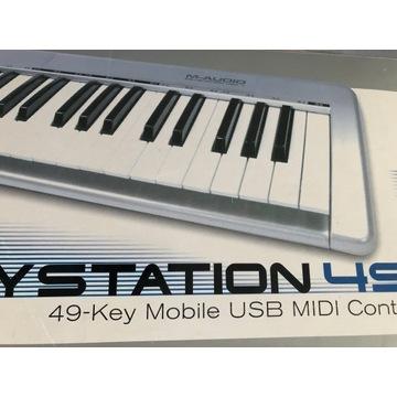 Klawiatura Sterująca MIDI M-AUDIO Keystation 49e