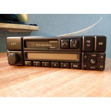 Radio Mercedes becker classic + kod + książka