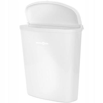Kosz na odpady BRUNNER  biały 5L kempingowy
