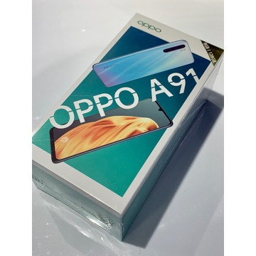 Oppo A91 - Blazing Blue / Turkusowy - nowy z Play