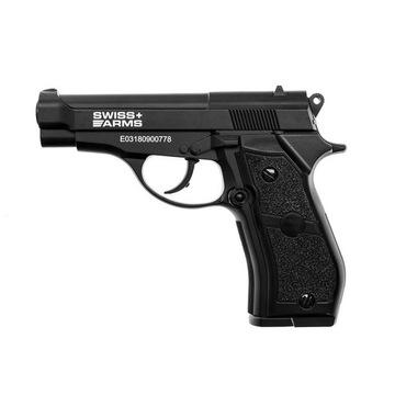 Wiatrówka pistolet CyberGun Swiss Arms P84 Metal