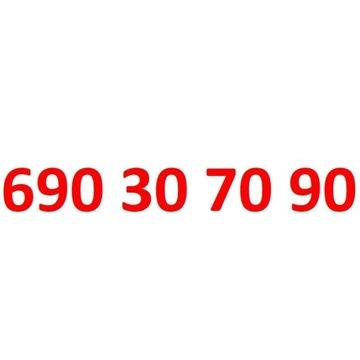 690 30 70 90 starter orange złoty numer