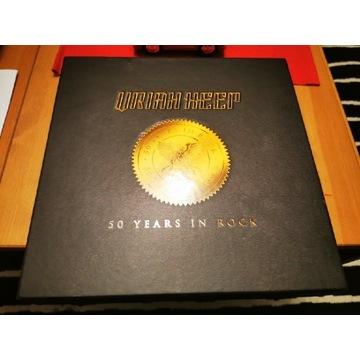 Box set Uriah Heep 50th anniversary - ideał