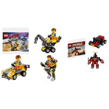 klocki lego Movie 30529+klocki lego Ninjago 30533