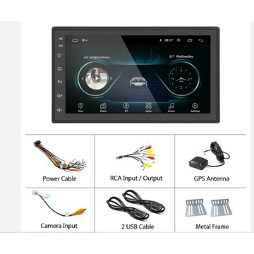 Radio samochodowe 2din Android/GPS/WIFI/Bluetooth