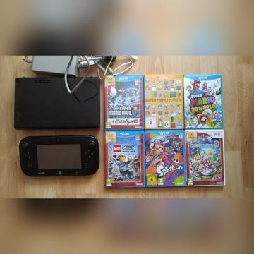 Wii U konsola 32GB, tabletopad plus 7 gier