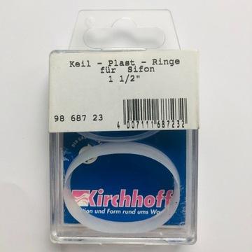 Uszczelki do syfonu  klinowe 1 1/2 Kirchhoff