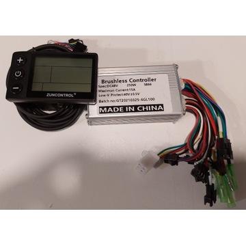 Kontroler BLDC 250W z wyświetlaczem
