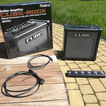 Roland Cube-80GX (80W) + dedykowany footswitch