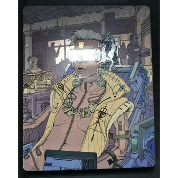 Cyberpunk 2077 PS4 PL wersja z metalowym pudełkiem