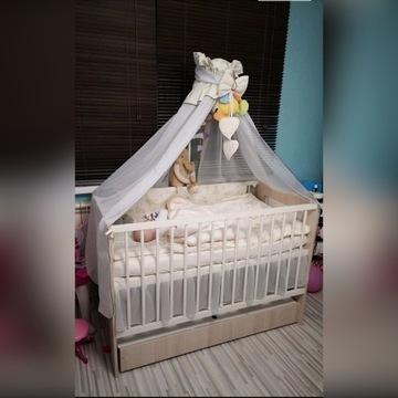 Łóżeczko niemowlęce 120x60 + materac