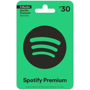 Spotify Giftcard 140zł