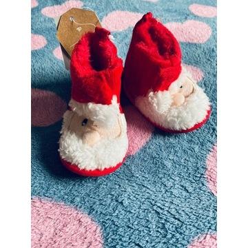buty dla dziecka Mikołaje 3- mcy r. 17