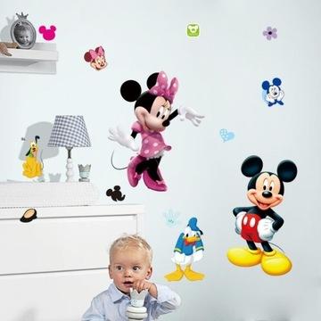 Myszka mickey na ścianę naklejka dekoracyjna dla d