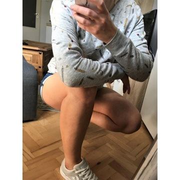 C&A Bluza szara wzór, rozmiar M
