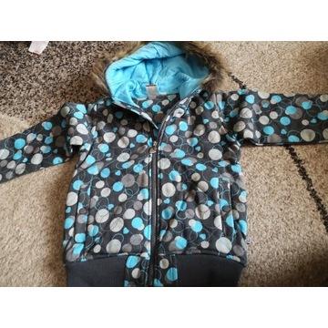 Zestaw bluz i kurtka dla dziewczynki 116