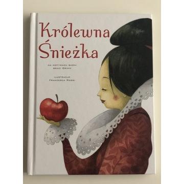 Książka Królewna Śnieżka dla dzieci