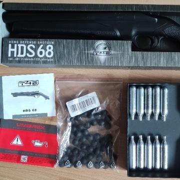 ZESTAW Strzelba Umarex HDS 68 CO2 20szt kule 50szt