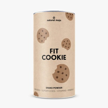 Fit Cookie szejk Natural Mojo 500g Nowy