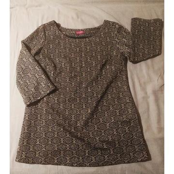 Happymum bluzka ciążowa rozmiar S złoto - czarna
