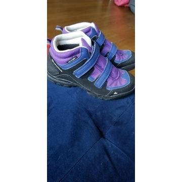 Buty trekkingowe decathlon dla dziewczynki r. 32