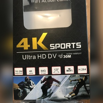Kamera 4K sports ultra HD DV